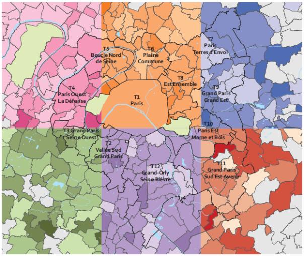 Cartographie de logement