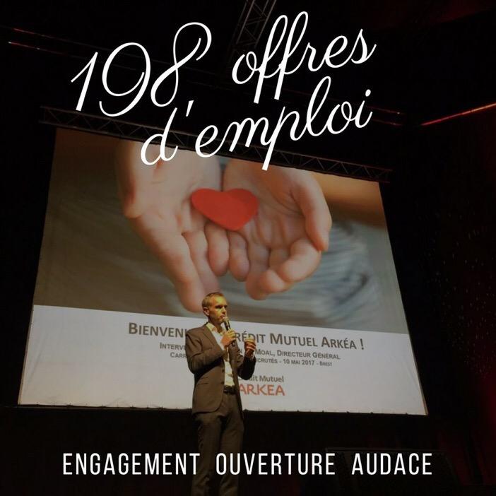 Credit Mutuel Arkea Recrute 198 Offres D Emploi Cmarkea Le Blog