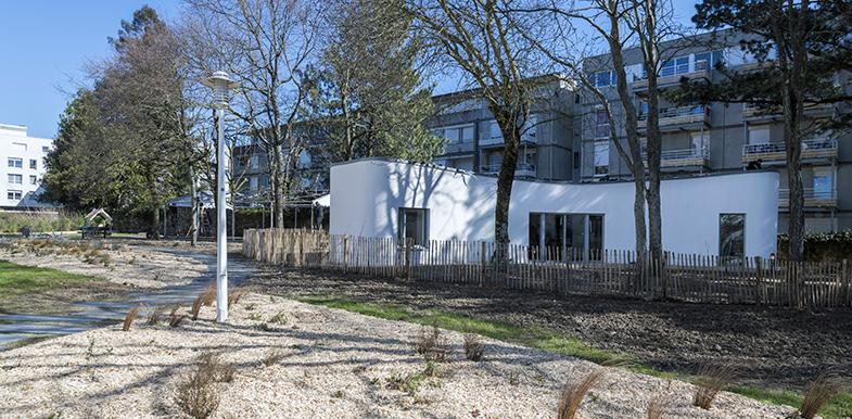 insolite 1 re maison d habitat social imprim e en 3d nmhhabitat le blog des institutionnels. Black Bedroom Furniture Sets. Home Design Ideas
